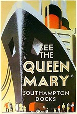 Queen Mary, Southampton Docks